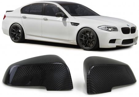 AußenspiegelL Kappen Cover Carbon für BMW 5er GT F07 5er F10 F11 F18 7er F01 F02