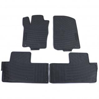Premium Gummi Fußmatten Set 4-teilig Schwarz für Mercedes M-Klasse ML W164 05-11