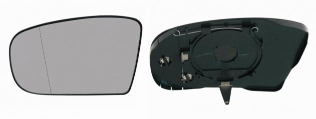 Spiegelglas rechts für MercedesS-Klasse W215, W220 von 2003-2006 beheizbar