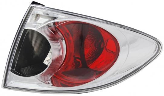 Rückleuchte / Heckleuchte chrom rechts TYC für Mazda 6 Kombi 02-05