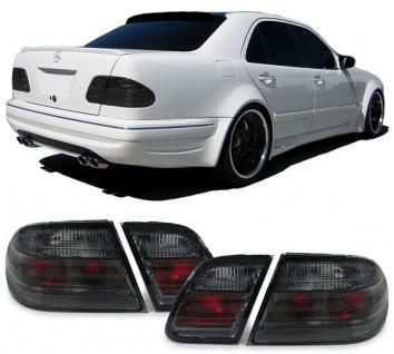 Rückleuchten Schwarz Smoke für Mercedes E Klasse W210 Limousine 95-02