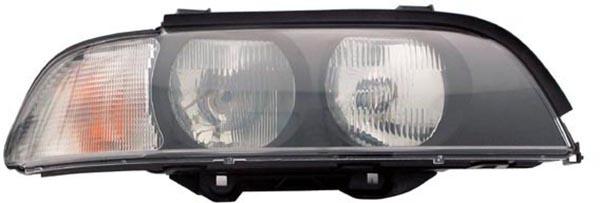H7 / HB3 Scheinwerfer weiß rechts TYC für BMW 5er E39 95-00