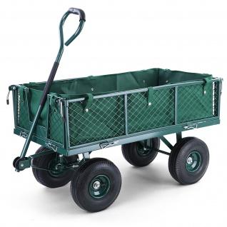 Transportwagen Gartenwagen Gerätewagen Handwagen mit Luftbereifung XL 300 KG