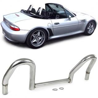 Überrollbügel Roadsterbügel Edelstahl poliert für BMW Z3 E36 Roadster 95-03