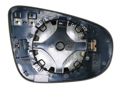 Spiegelglas beheizbar links für VW Golf VI Cabriolet 517 11-