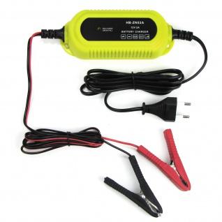 Kfz Batterieladegerät Batterieerhlatung für PKW Motorrad Boot 12 Volt 2A