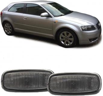 Seitenblinker schwarz smoke Paar für Audi A8 4G A4 8D2 A3 8L A6 C5 TT 8N A2 - Vorschau 2