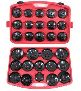 Profi Werkzeug Ölfilterschlüssel Set 31 teilig mit Koffer für PKW - Vorschau 4
