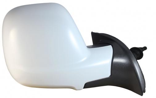 Außenspiegel manuell rechts für Peugeot Partner 12-