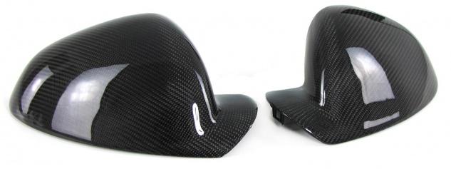 Echt Carbon Spiegelkappen zum Austausch für Opel Insignia A 08-17