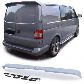 Dachkantenspoiler Heckspoiler Sport Optik für VW Bus T6 T6.1 mit Flügeltüren
