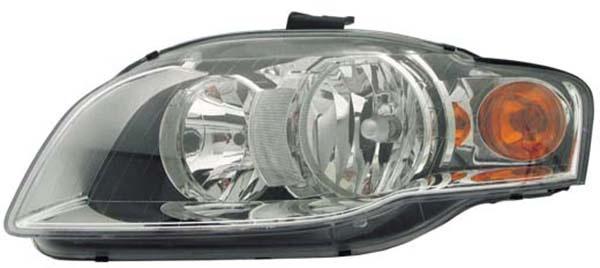 H7 / H7 Scheinwerfer links TYC für Audi A4 8E 04-08