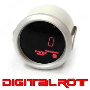 Wassertemperatur Anzeige Zusatz Instrument digital Magic rot