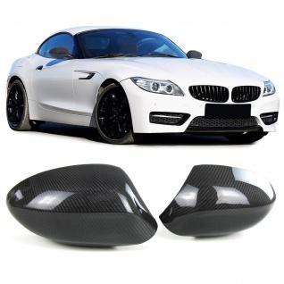 Echt Carbon Spiegelkappen Spiegelcover für BMW Z4 E89 ab 09