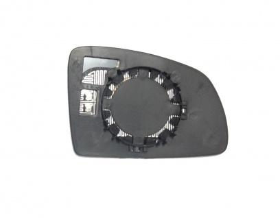 Spiegelglas beheizbar links für Opel Meriva 03-10