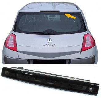 Dritte LED Bremsleuchte Klarglas schwarz für Renault Megane II Scenic II 02-08