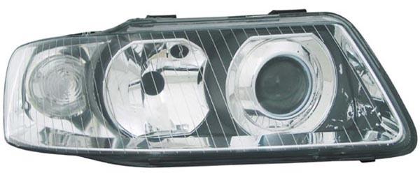 H1 / H7 Scheinwerfer rechts TYC für Audi A3 8L 00-03