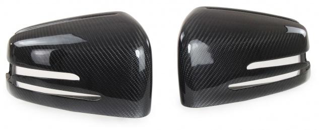 Carbon Spiegelkappen zum Austausch für Mercedes A Klasse W176 B W246 C W204