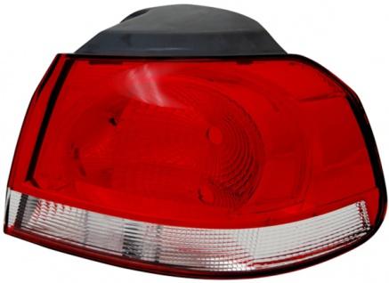 Rückleuchte / Heckleuchte Aussen chrom rechts TYC für VW Golf VI 08-