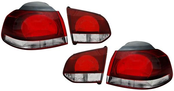 Rückleuchten Sport Optik Set für VW Golf 6 Limousine 5K1 AJ5 ab 2008