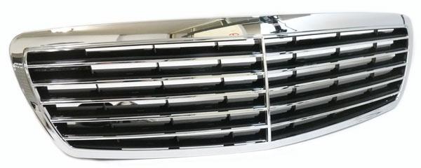 Sport Grill Kühlergrill für Mercedes E Klasse W211 02-06