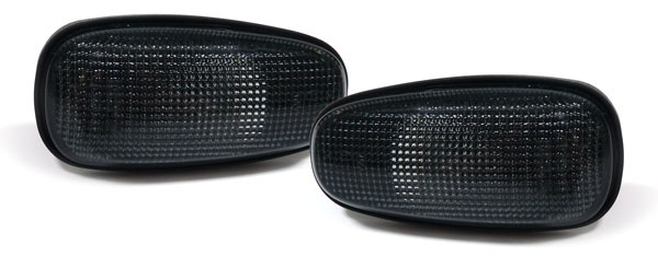 *** Schwarze Seitenblinker für Opel Astra G 98-05 Zafira A 99-05
