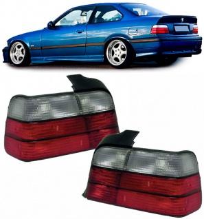 Rückleuchten rot weiß für BMW 3ER E36 Coupe + Cabrio 90-99