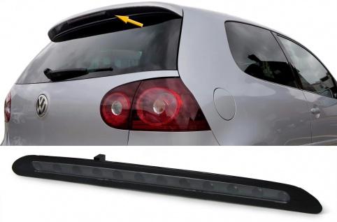 Dritte LED Bremsleuchte Klarglas schwarz für VW Golf 5 03-08