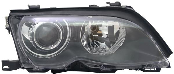 D2S H7 Xenon Scheinwerfer schwarz rechts TYC für BMW 3ER E46