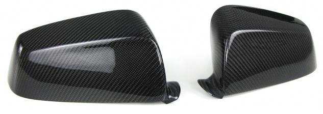 Echt Carbon Spiegelkappen zum Austausch für BMW 5er GT F10 F11 F18 7er F01 F02
