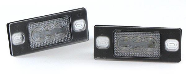 LED Kennzeichenbeleuchtung High Power weiß 6000K für VW Passat B6 3C B7 362 CC - Vorschau 2
