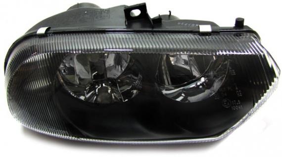 H7 H1 Scheinwerfer rechts schwarz für ALFA Romeo 156 97-03