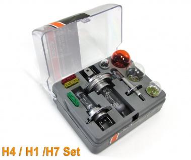 KFZ Leuchtmittel Glühbirnen und Sicherungen Ersatz H1 H4 H7 Box Set 12v
