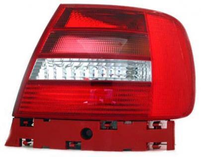 RÜCKLEUCHTE / HECKLEUCHTE RECHTS TYC FÜR AUDI A4 Limousine 8D2 99-01