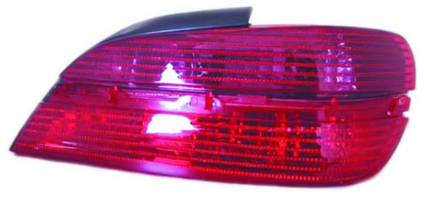 Rückleuchte / Heckleuchte rechts TYC für Peugeot 406 Limousine 99-04