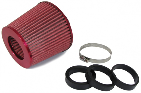 Performance Sport Luftfilter mit Adapter 60/65/70mm rot