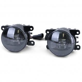 LED Nebelscheinwerfer Schwarz für Peugeot 107 207 CC 307 CC 407 Porsche Cayenne