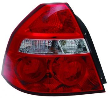 Rückleuchte / Heckleuchte links TYC für Chevrolet Aveo Limousine 05-