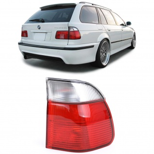 Rückleuchte Aussenteil Rot Weiss Rechts für BMW 5er E39 Touring 95-00