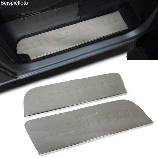 Edelstahl Einstiegleisten EXCLUSIVE Trittschutz für VW Crafter 2E ab 06