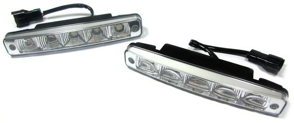 UNIVERSELLE LED TAGFAHRLEUCHTEN TAGFAHRLICHT S7 - SET - Vorschau 1