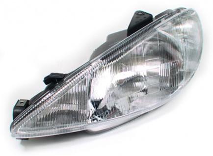 H4 Scheinwerfer Links FÜr Peugeot 206 98-03 - Vorschau