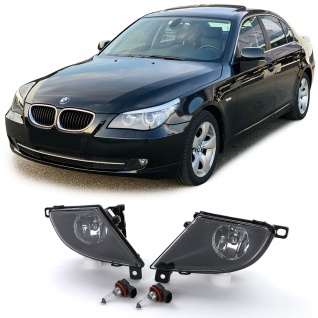 Nebelscheinwerfer Set + H8 Leuchtmittel für BMW E60 E61 LCI Facelift 07-10