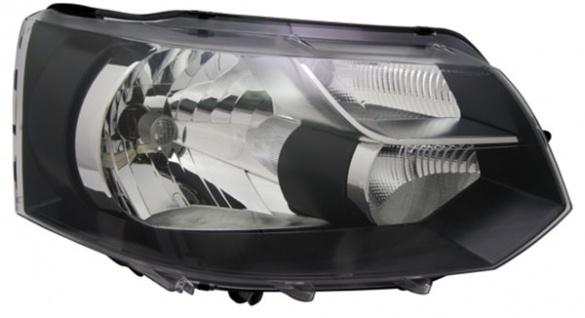 H4 Scheinwerfer schwarz rechts TYC für VW Bus Transporter T5 09-