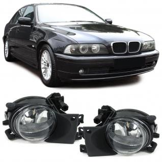 Klarglas Nebelscheinwerfer H8 klar chrom Paar für BMW 5er E39 00-04 Facelift
