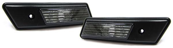 Seitenblinker schwarz - Paar für BMW 3ER E36 bis 96 + E34