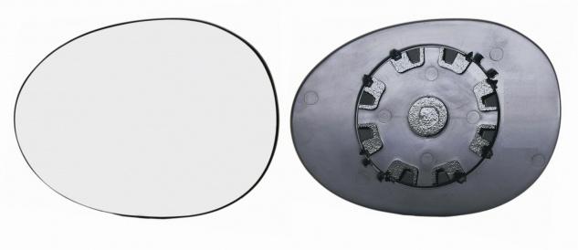 Spiegelglas links für Peugeot 107 05- - Vorschau