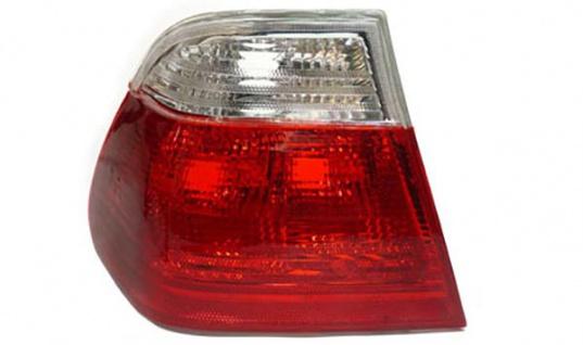 Rückleuchte rot weiß klar links für BMW 3ER E46 Limousine 98-01