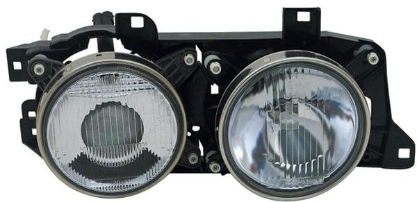 H1 / H1 Scheinwerfer rechts TYC für BMW 5er E34 88-97