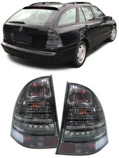 LED Rückleuchten schwarz smoke für Mercedes T-Model Kombi S203 00-04